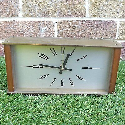 Retro Metamec Electric Clock - Currently Working - BUT In Need Of Attention