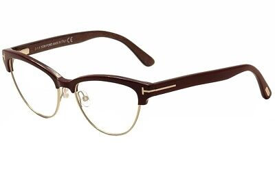 e1a4f3b65c6d Tom Ford Women s Eyeglasses TF5365 TF 5365 071 Burgundy Gold Optical Frame  54mm