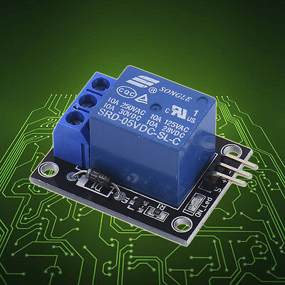 5V One 1  Channel Relay Board Module for Arduino Raspberry Pi ARM AVR DSP PIC