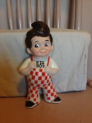 Vintage 1973 Plastic Rubber Bob's Big Boy Coin Bank