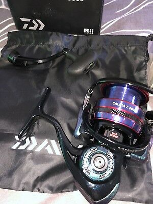 Daiwa Caldia Z Spin Reel, also comes with project spool.