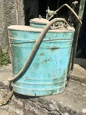 Pompa Da Rame Antica Da Restaurare Old Copper Garden Pump Sprayer