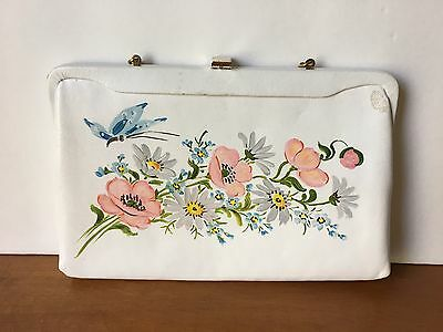 Vintage Lily Bet Filbert Imports of the Palm Beaches Butterfly Hand Bag Purse