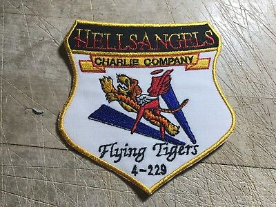 1970s/80s? US AIR FORCE PATCH-Reunion Patch? Flying Tigers 4-229-ORIGINAL USAF