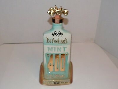 Vintage 1970 Jim Beam Decanter-Del Webb's 3rd Annual Mint 400 Las Vegas Decanter
