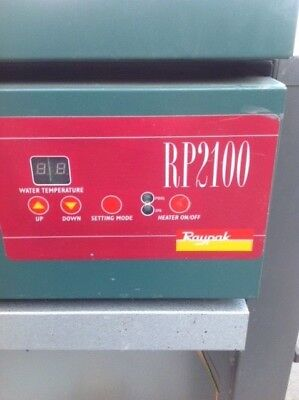 Raypak Pool and Spa Premium Residential Gas Heater