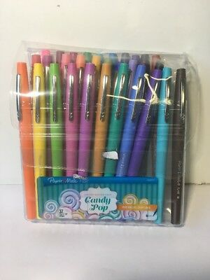 Paper Mate Flair Candy Pop Set of 32 Felt Tip Colored Pens **(MISSING ONE!)**