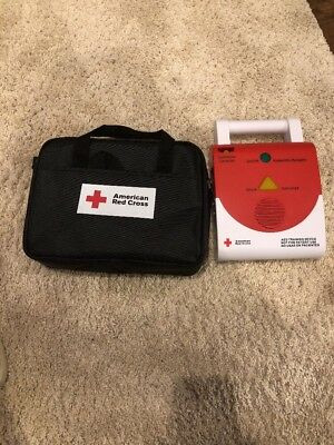 red cross aed trainer