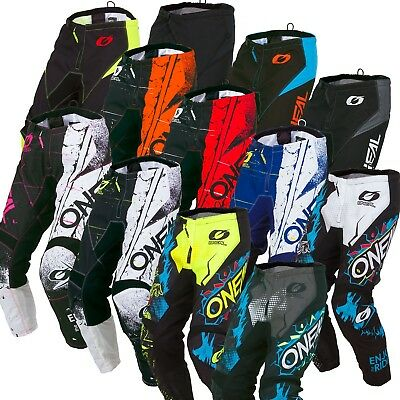 Oneal Element Kids MX Dirtbike Motorbike Riding Pants 2019 Size 18-28inches