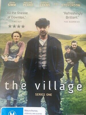 THE VILLAGE - Series 1 2 x DVD Set AS NEW! Complete First Season One