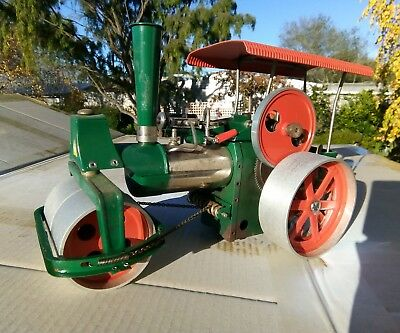Wilesco D365 Live Steam Old Smokey Traction Engine Steam Roller