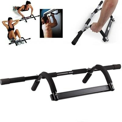 Exercise Fitness Home Door Pull Up Bar Chin Up Sit Up Strength Body Workout Gym