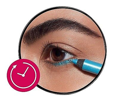Bourjois Contour Clubbing Waterproof Eye Pencil and Liner Sea Blue Soon 1.2g UK