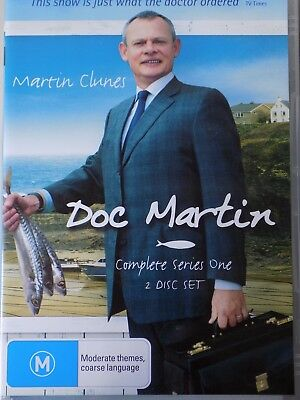 DOC MARTIN - Series 1 2 x DVD Set AS NEW! Complete First Season One