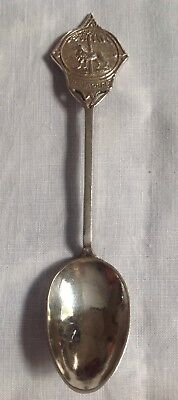 Silver Collectable Spoon From Singapore Marked 800