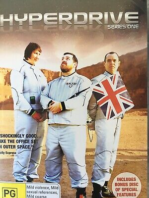 HYPERDRIVE - Series 1 2 x DVD Set BBC AS NEW! Complete First Season One