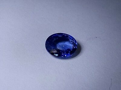 Blue Sapphire oval 0,56ct 4.7x5.6mm Loose Natural Gemstone Clean untreated