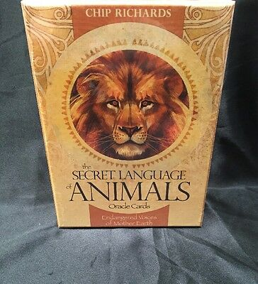 The Secret Language of Animals: Endangered Voices of Mother Earth by Chip Richar