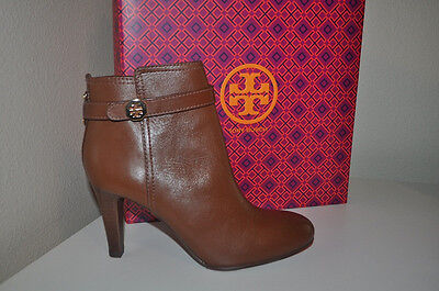 72480ce81cb NIB  395+ Tory Burch BRITA Almond Brown Leather Ankle Bootie Boot Shoes Sz 8.5  M