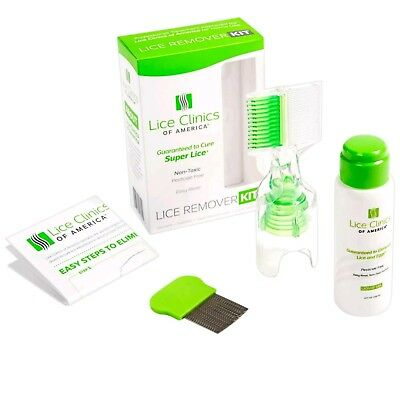 Lice Remover Kit Guaranteed to Cure Lice, Even Super LiceSafe Non-T Last 2 New