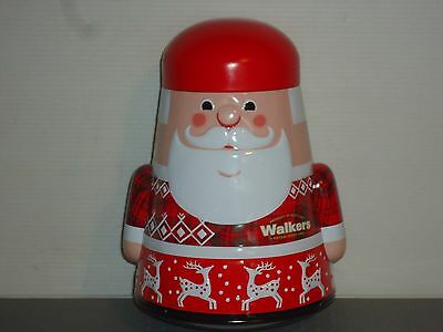 T16118 Collectable Walkers Father Christmas Empty Tin