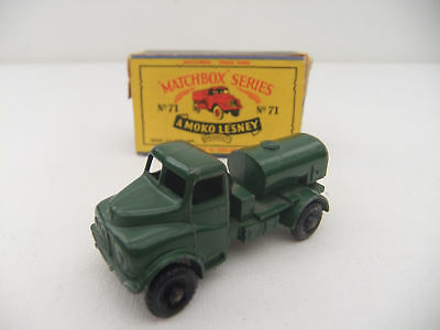 Lesney Matchbox Vintage 71a Austin 200 gallon water tanker truck Original 1959