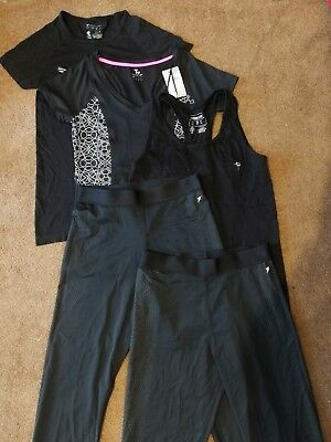 Selection of activewear sportswear, tops leggings size 6-8 some used some BNWT