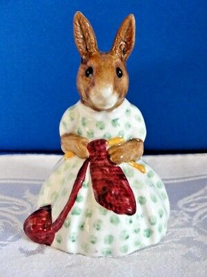 Vintage Royal Doulton Bunnykins Busy Needles Figurine Made in England