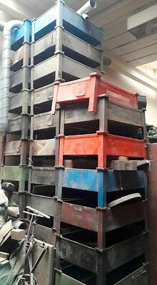 Industrial Furniture Steel Stackable Storage Container Stillages Coffee Table