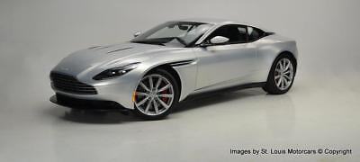DB11 -- 2017 Aston Martin DB11 Coupe Lightning Silver Obsidian Black 829 Miles!