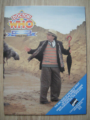 Doctor Who Magazine Winter Special 30Th Anniversary 1963-93 – Wrap Around Cover