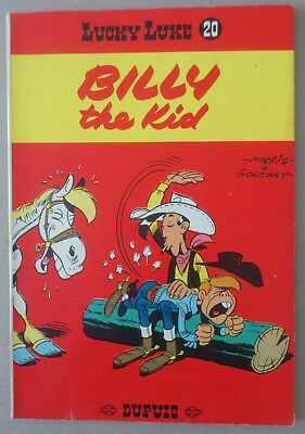 Morris  ***  Lucky Luke 20. Billy The Kid  ***  Dos Jaune 1964. Tbe