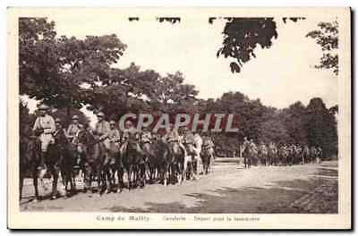 Mailly le Camp - Camp de Mailly - Cavalerie Depart pour le manoeuvre - CPA