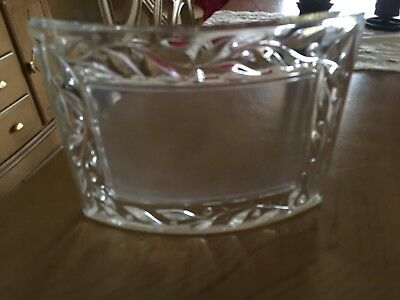 BN Beautiful Designer MARQUIS WATERFORD CRYSTAL Photo Picture Frame 4x6
