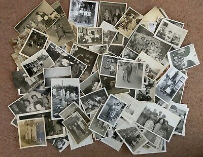 Job Lot Bulk Collection 100 Vintage Old Photos People Fashion Clothing