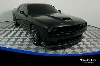 Challenger SRT Pitch Black Clearcoat Dodge Challenger with 11,665 Miles available now!