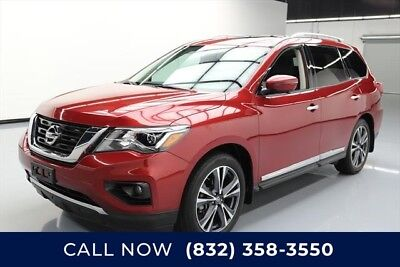 Nissan Pathfinder Platinum 4dr SUV Texas Direct Auto 2017 Platinum 4dr SUV Used 3.5L V6 24V Automatic FWD SUV Bose