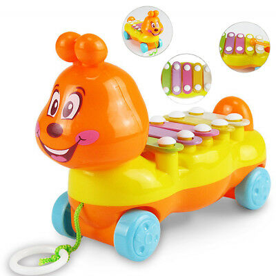 Infant Kid Baby Chilren Toy Educational Caterpillar Musical Girl Toddler Cute