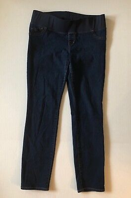 Old Navy Maternity Skinny Jeans Dark Wash Size 12 Regular