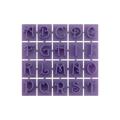 Concrete Stone Stamp Set (Letters & Numbers)) Victorian