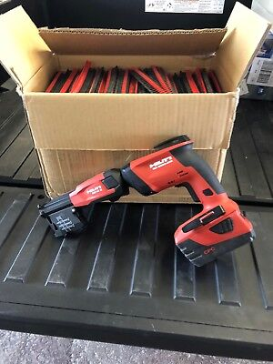 Hitli 18 Volt Drill Aut Feed New Never Used With a box of 10,000 screws