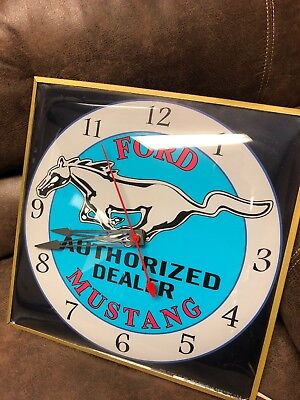 Pam Clock Ford Mustang original dealer clock from the 60's