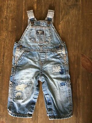 Osh Kosh denim dungarees 6 months NEW without tags
