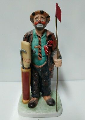 The Original Emmett Kelly Circus Collection - Clown Playing Golf