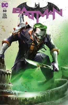 Batman 50 Francesco Mattina Joker Cover A Exclusive Variant Nm
