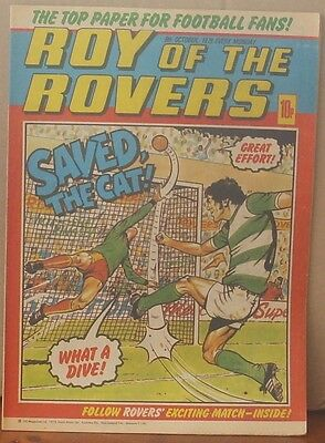 ROY OF THE ROVERS 8th October 1979 Tommy's Troubles The Hard Man MIghty Mouse