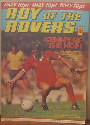 ROY OF THE ROVERS 13th October 1979 Tommy's Troubles The Hard Man MIghty Mouse