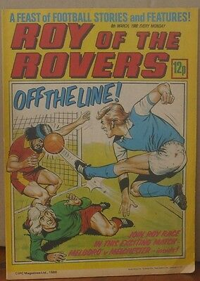 ROY OF THE ROVERS 8th March 1980 The Hard Man MIghty Mouse Mike's Mini Men