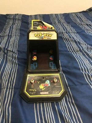 Pac-Man Mini Arcade Table Top Game 1981 ~ Coleco ~ Midway ~ FOR PARTS