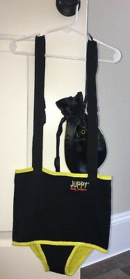 Juppy Ultra Comfy Baby Walker + Carrying Case Black / Yellow